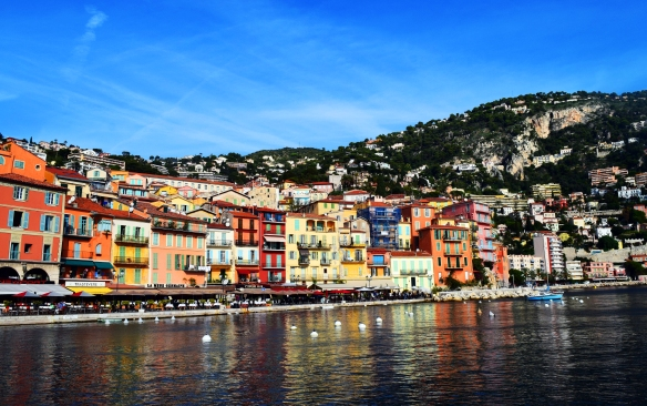Arriving At Villefranche